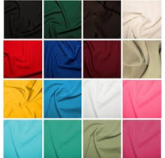 Bi-Stretch Plain Multi Purpose Fabric 150cm (170gsm)