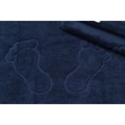 black feet design bathmat