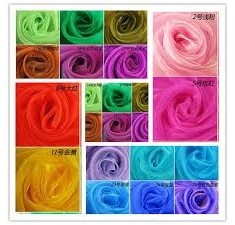 Clearance Organza Items