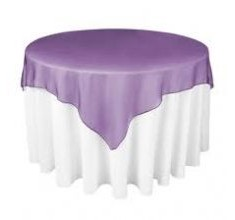 Organza Tablecloth Overlays
